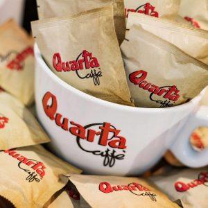 Quarta mega Cappuccino tas met onderbord (siertas)