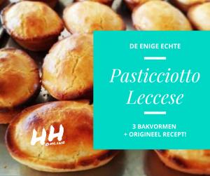 Lees meer over het artikel Pasticciotto Leccese, een lekkernij uit Puglia