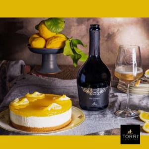 Lemon Cheesecake en Bubbels